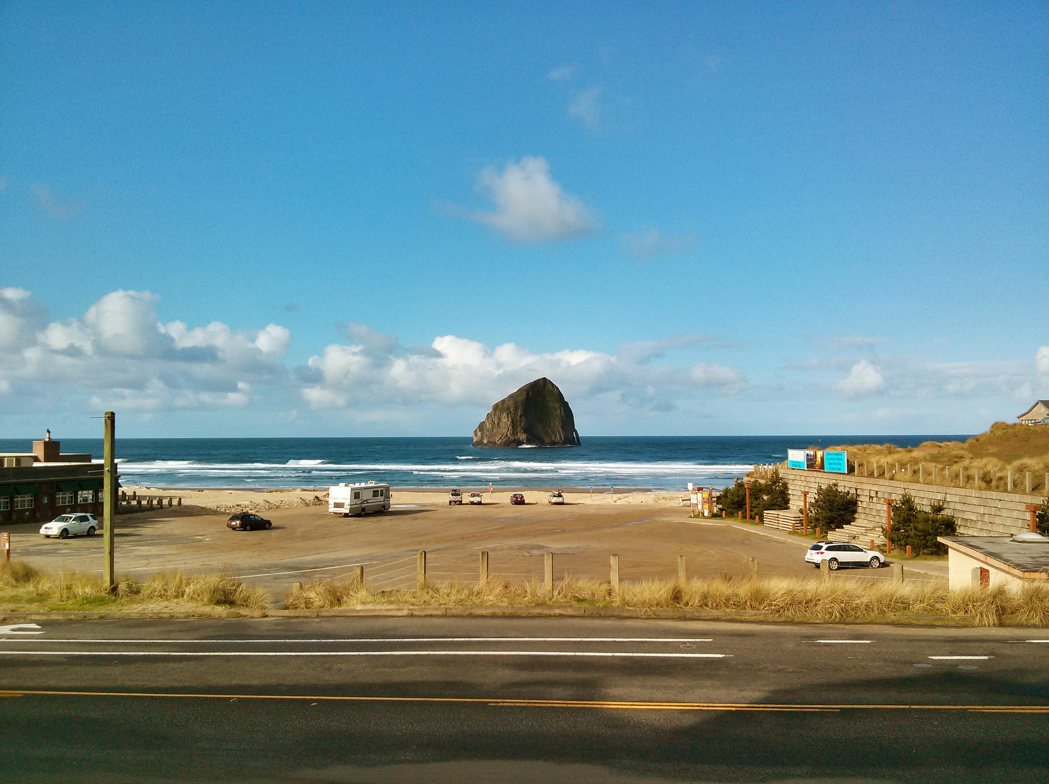 Pacific City, Oregon.  Photo by Andy Hayes.