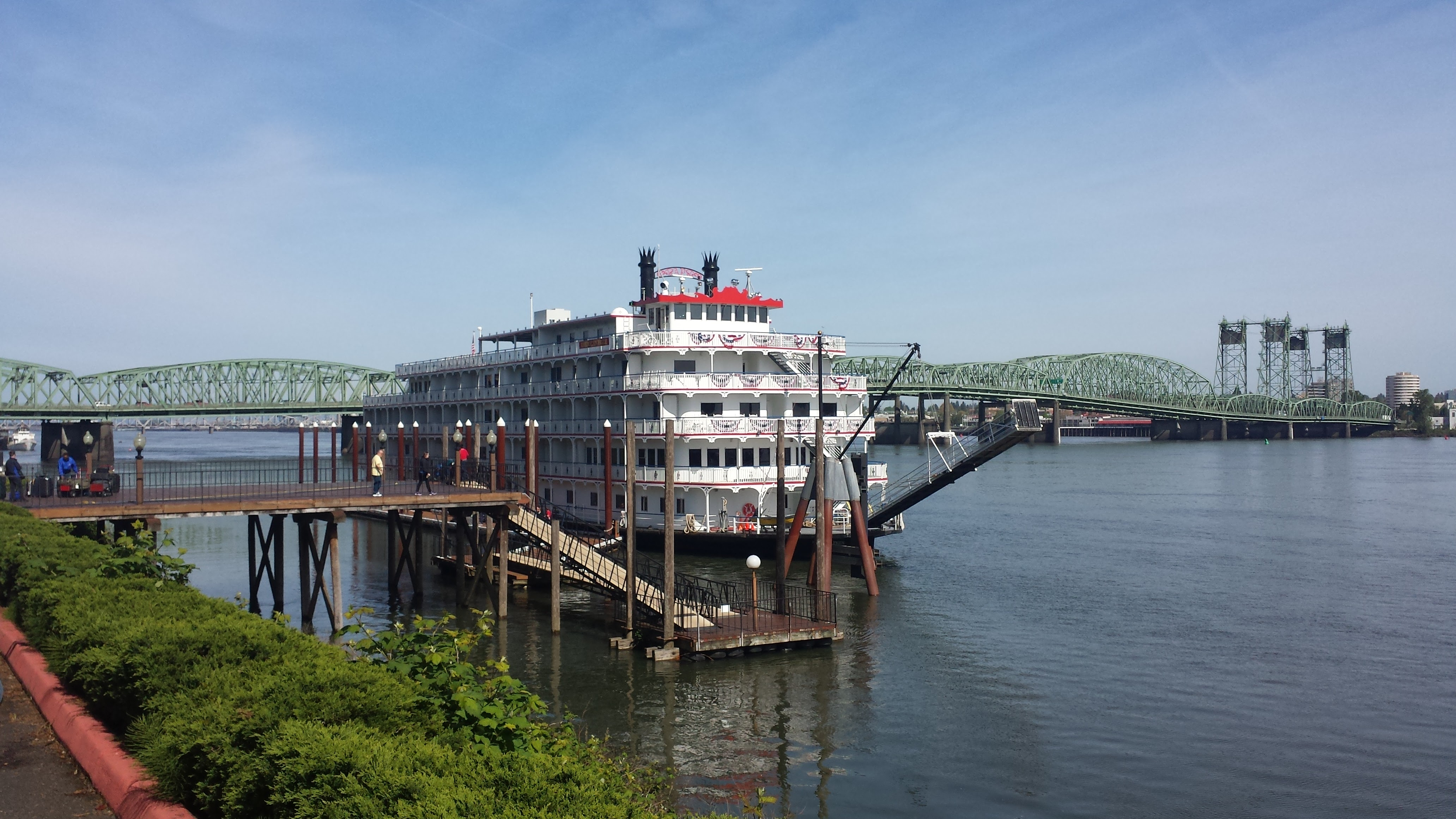 American Pride docked in Portland. Photo by Ashley Whitham.