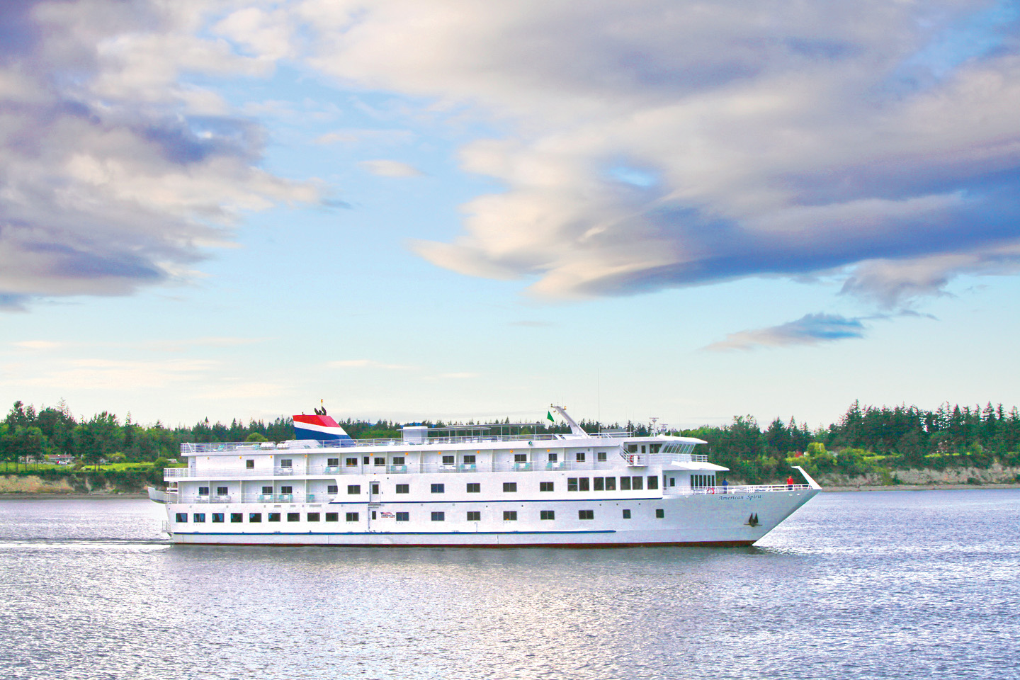 American Spirit in Anacortes. Photo by American Cruise Lines.