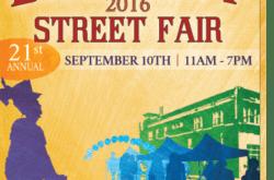 Belmont Street Fair 2016