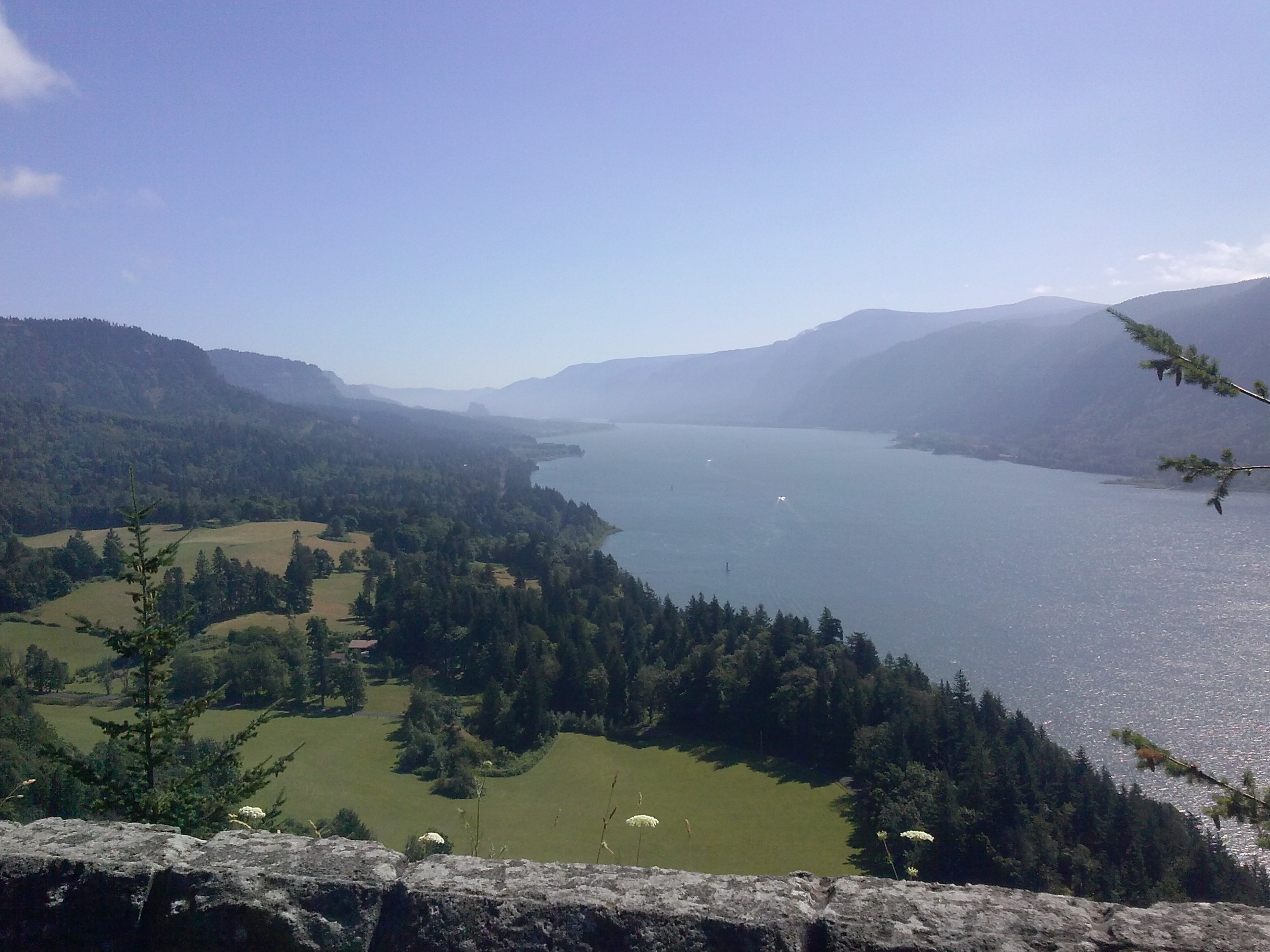 Columbia River Gorge from Washington Side. Photo by Ashley Whitham