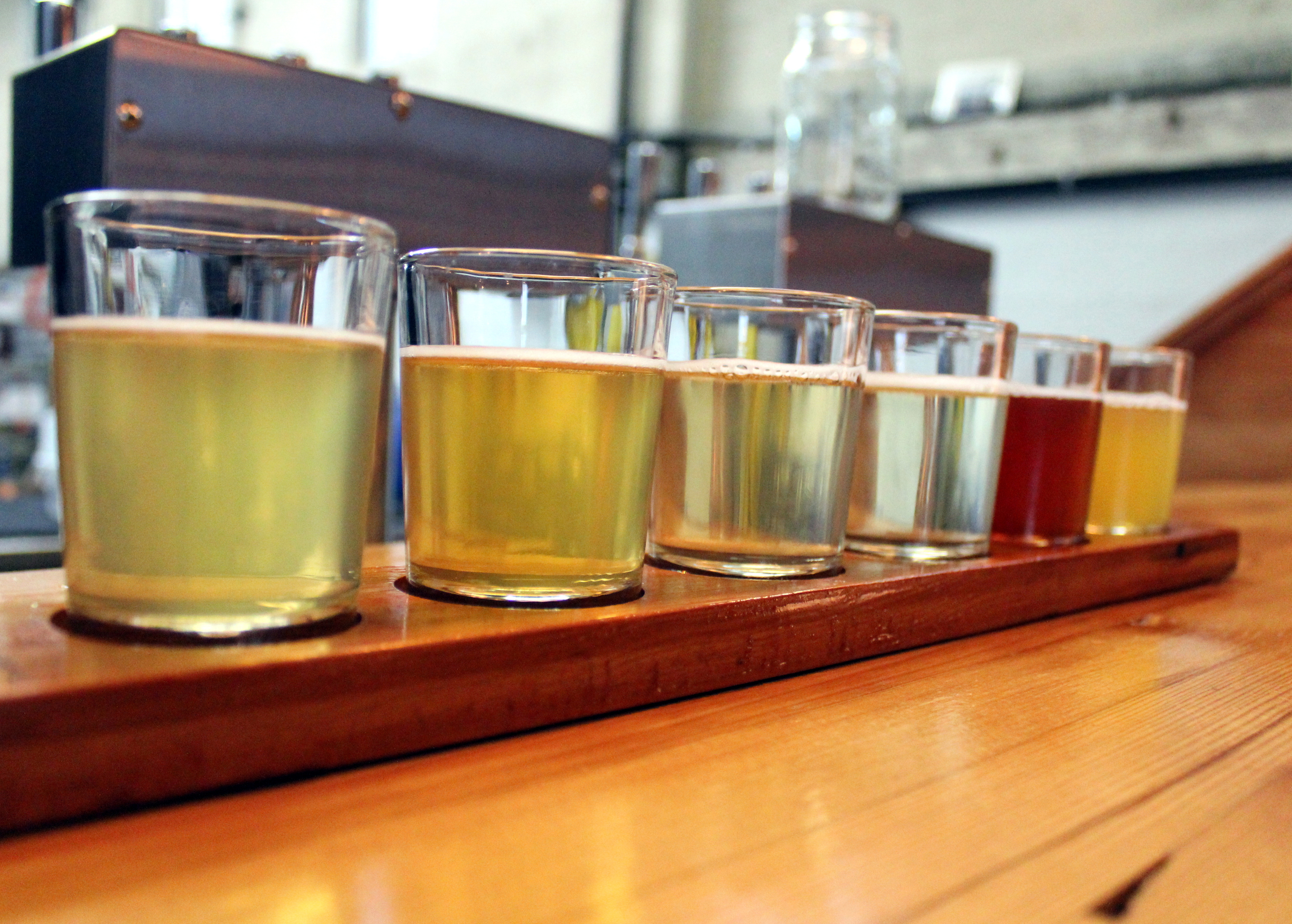Flight of Ciders, photo by Carrie Uffindell