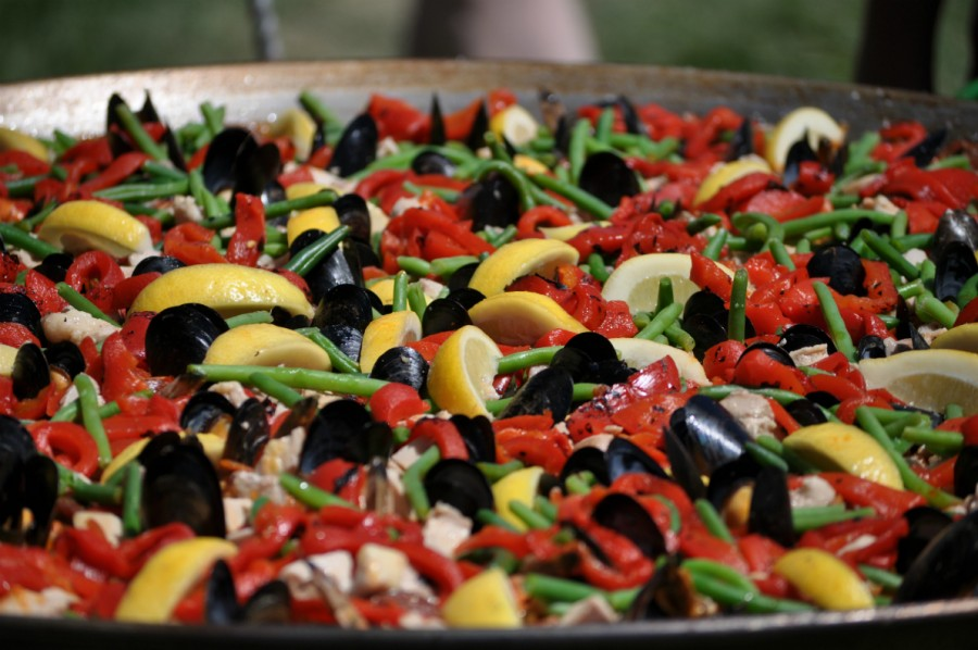 Paella at The Basque Market. (Photo by Restaurant)