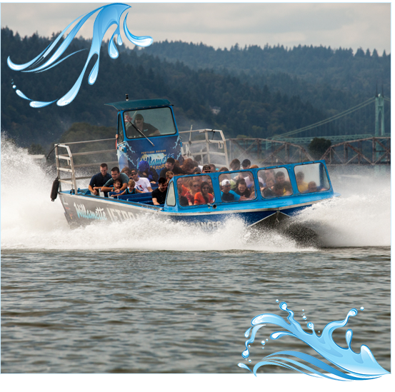 Portland jetboat excursions