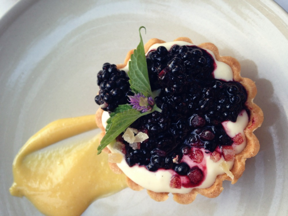 Blackberry tart, photo by Newaukum Valley Farm.
