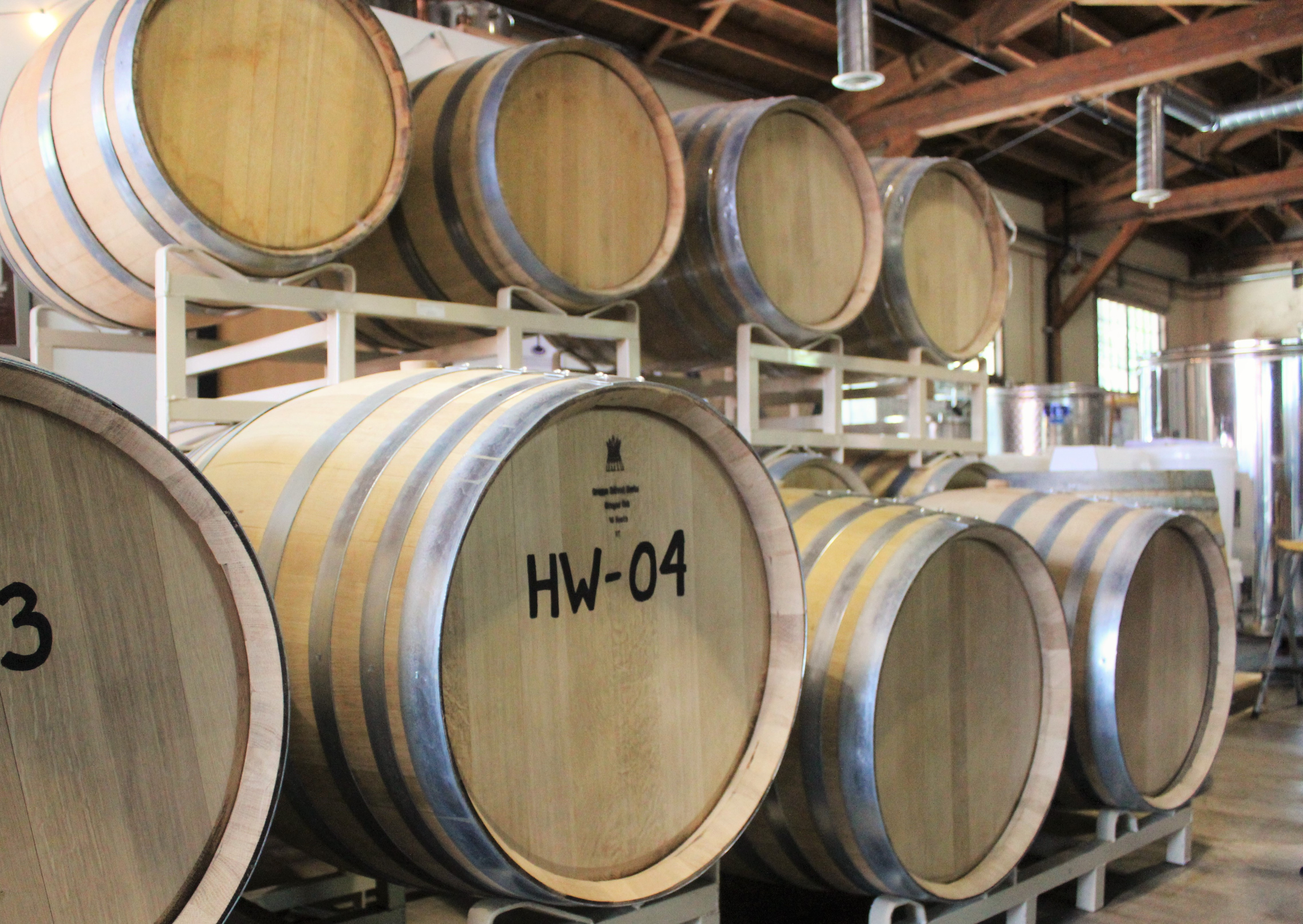 Barrels for Aging photo by Carrie Uffindell