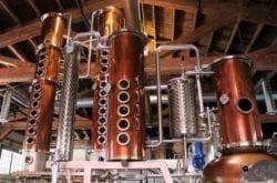 Copper Stills at New Deal Distillery, Portland, Oregon