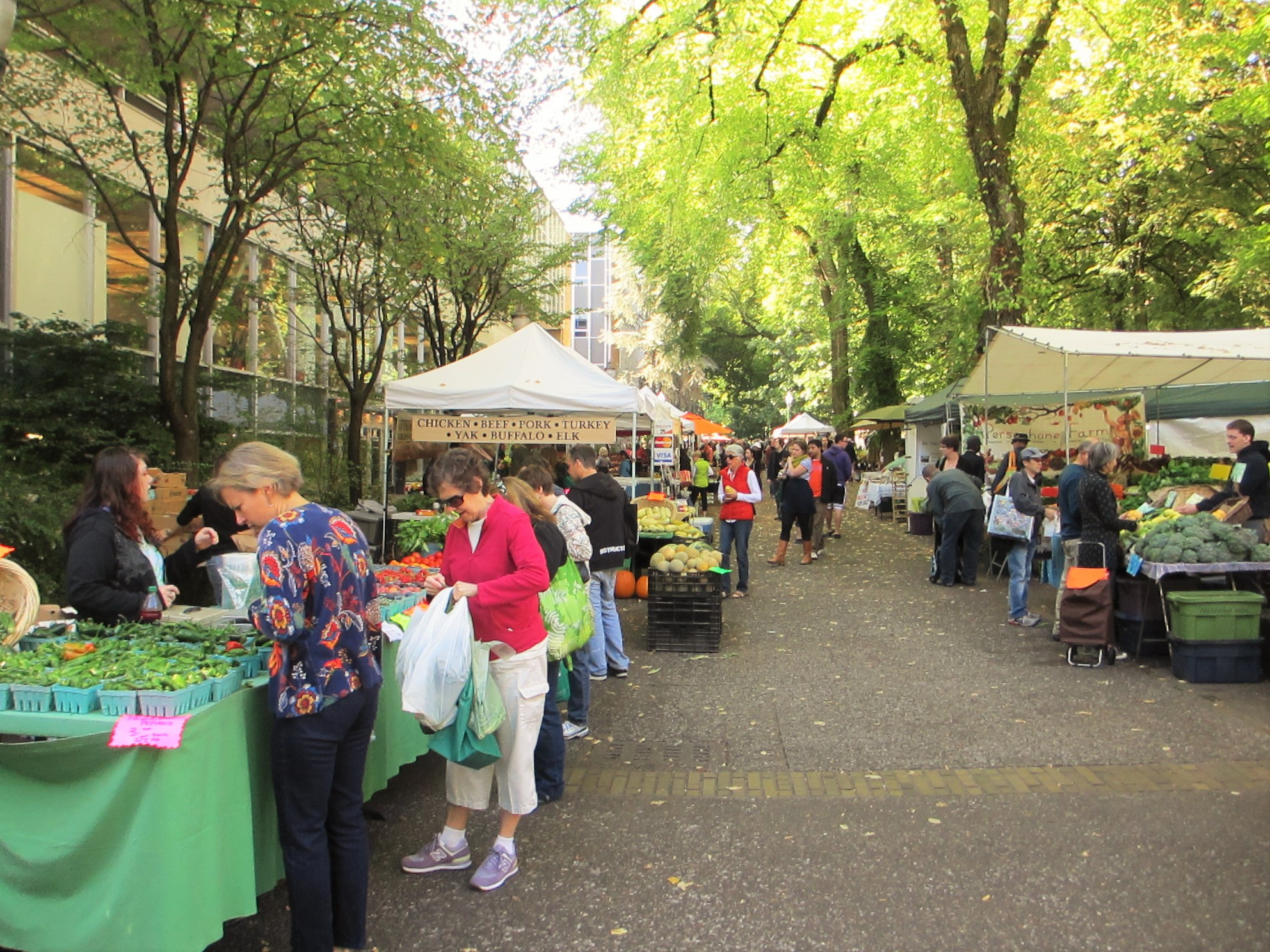 Portland Farmers Market, photo by Mack Male via Flickr Creative Commons