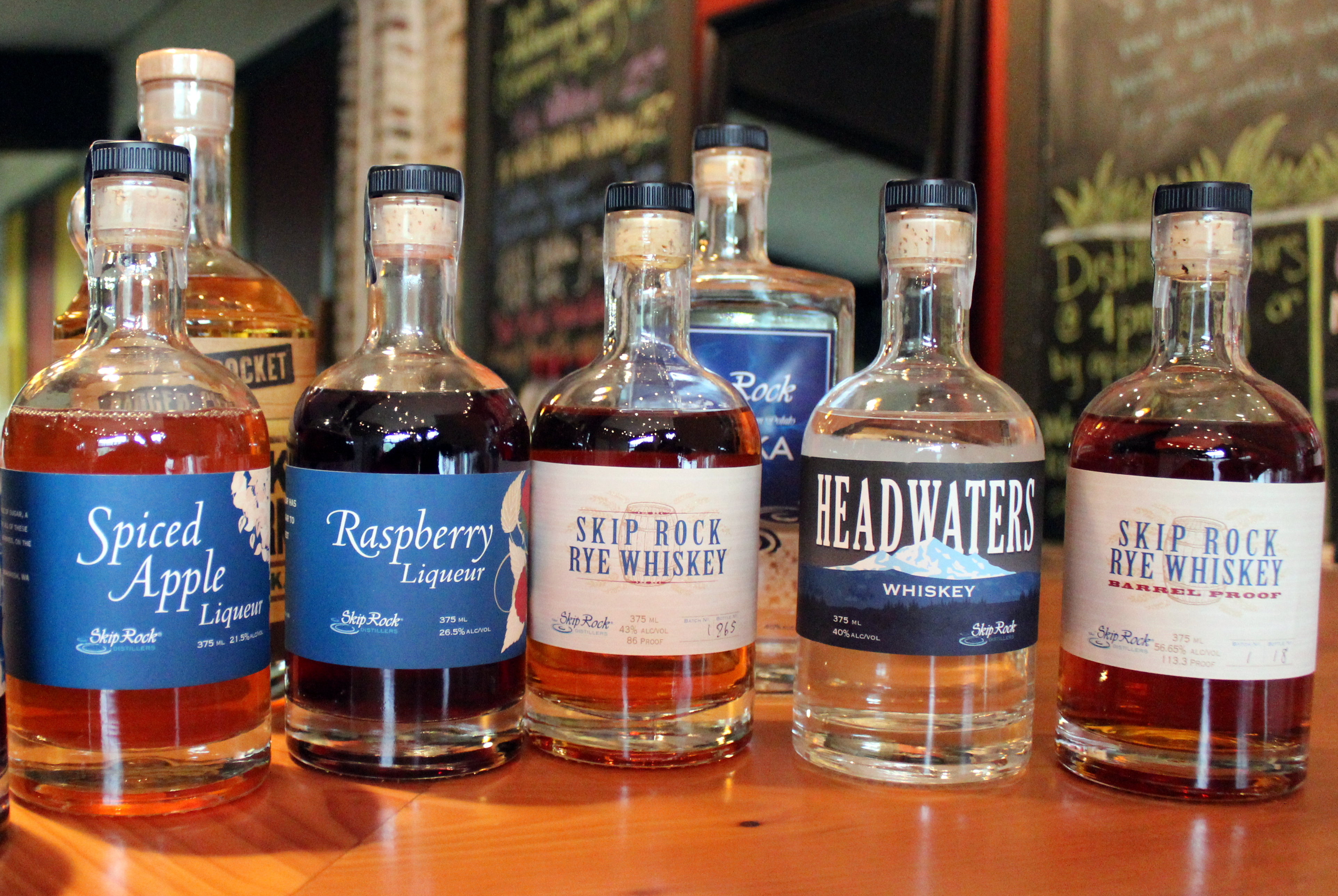 Skip Rock Distillers Products photo by Carrie Uffindell