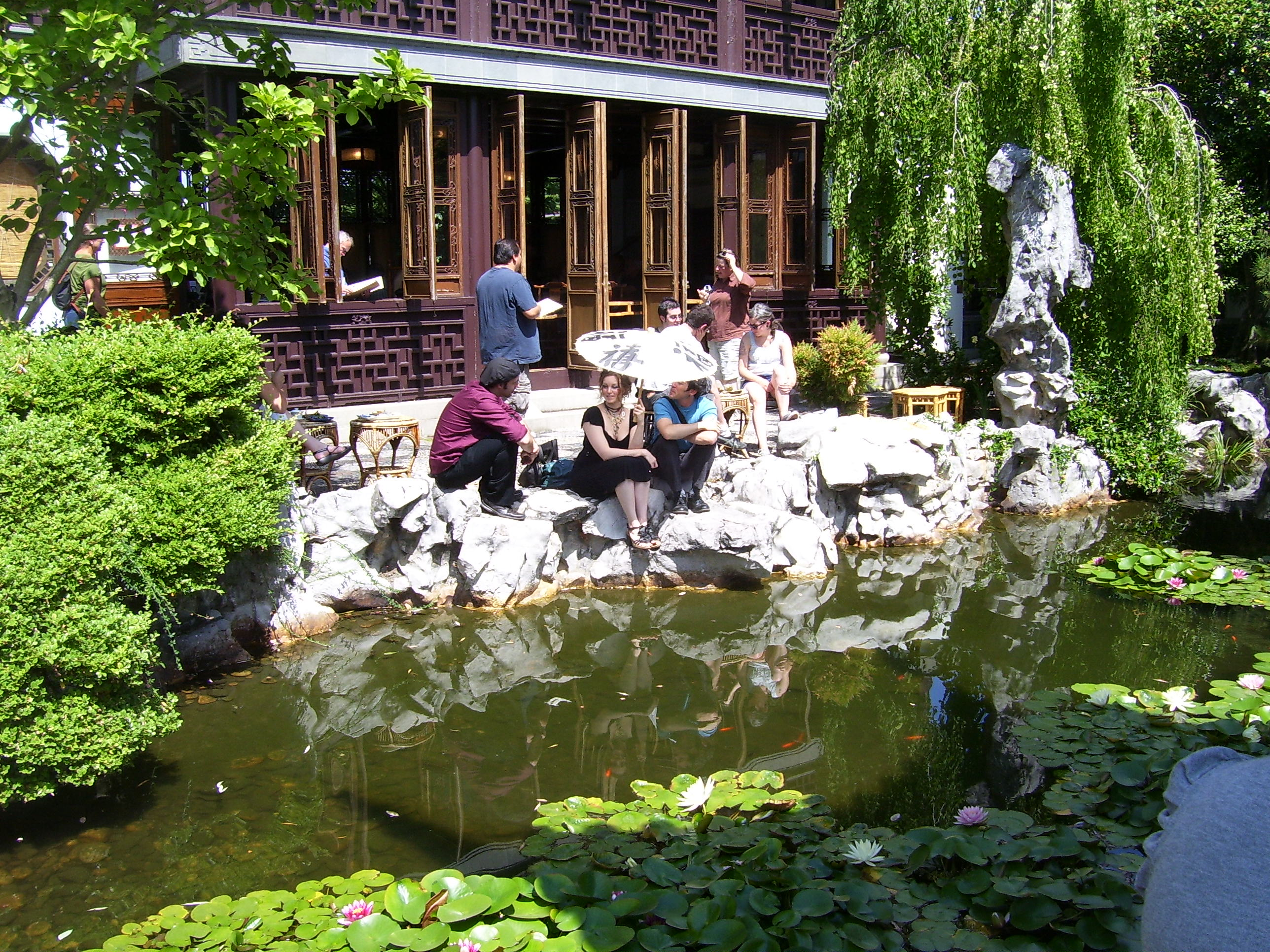Teahouse at Lan Su Chinese Garden, photo by Jeff Hart via Flickr Creative Commons