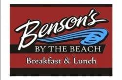 Benson's by the Beach