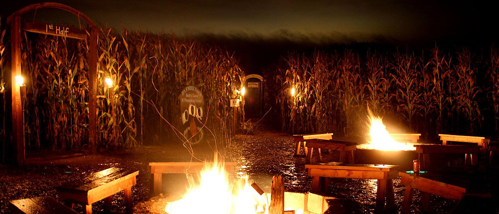 Bonfire at Bob's Corn & Pumpkin Farm