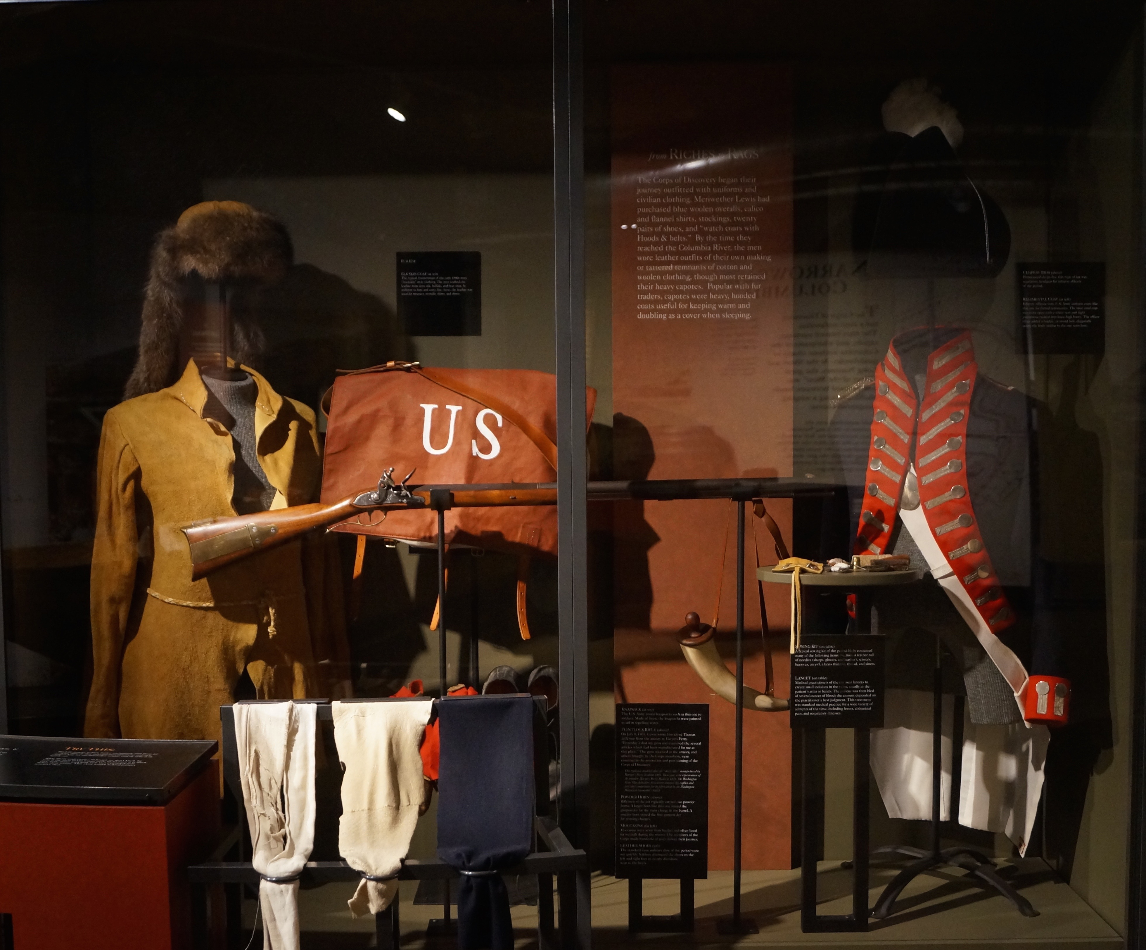 The Lewis and Clark Interpretive Center, photo by Dena Weigel Bell