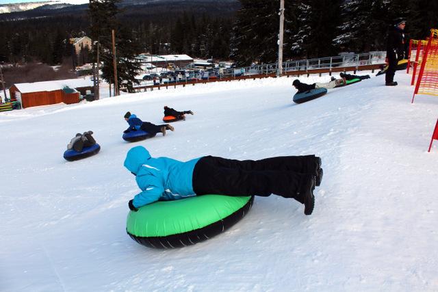 Snow Tube Runs at Mt. Hood SkiBowl, photo by Erik Benton