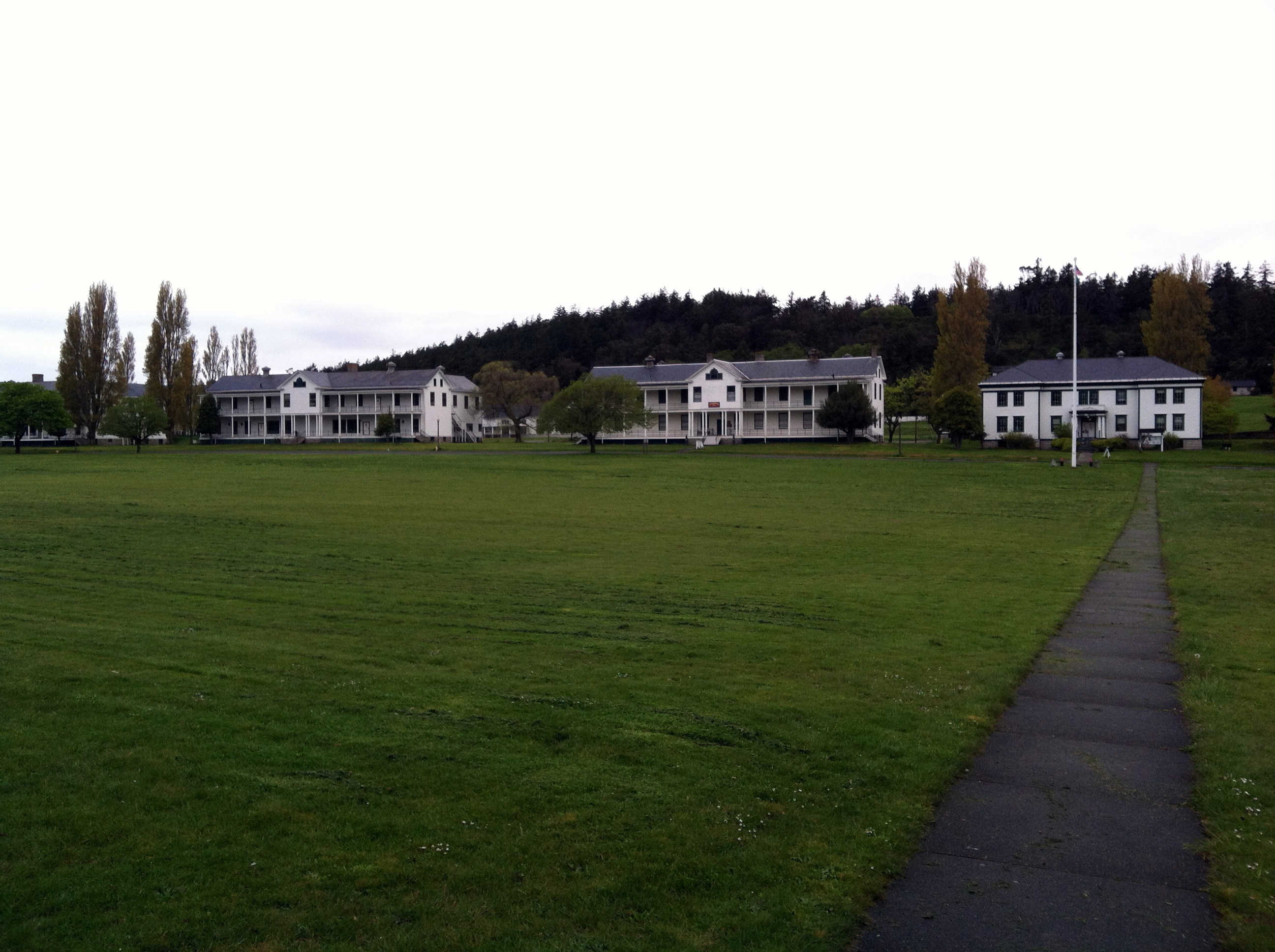 Fort Worden State Park Parade Grounds photo by Carrie Uffindell