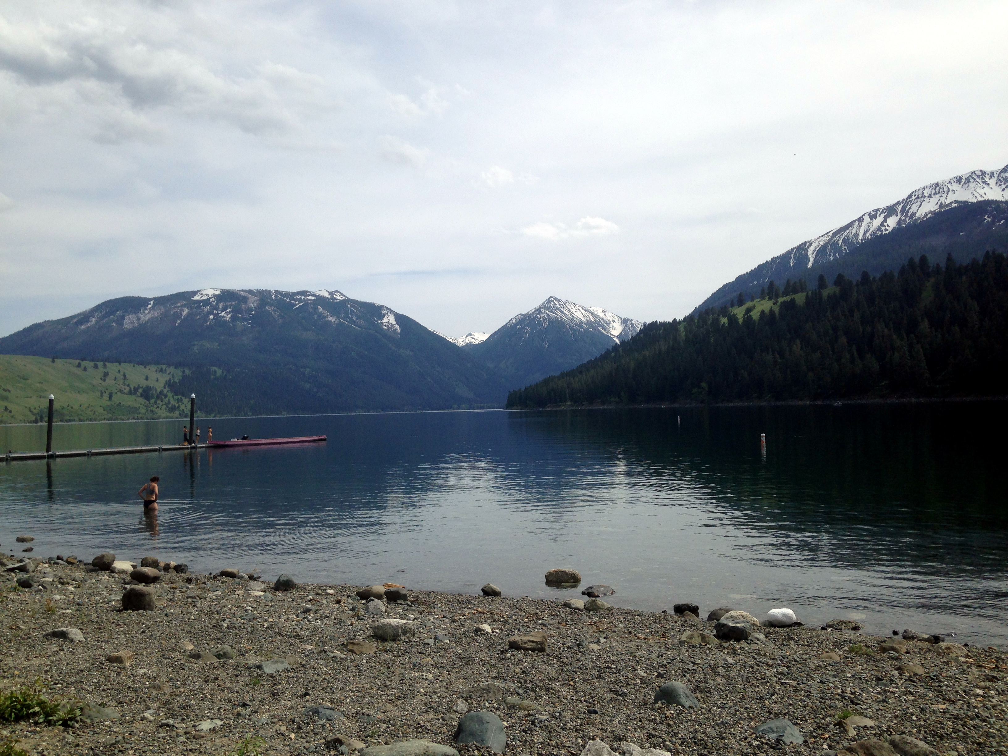 Wallowa Lake photo by Carrie Uffindell