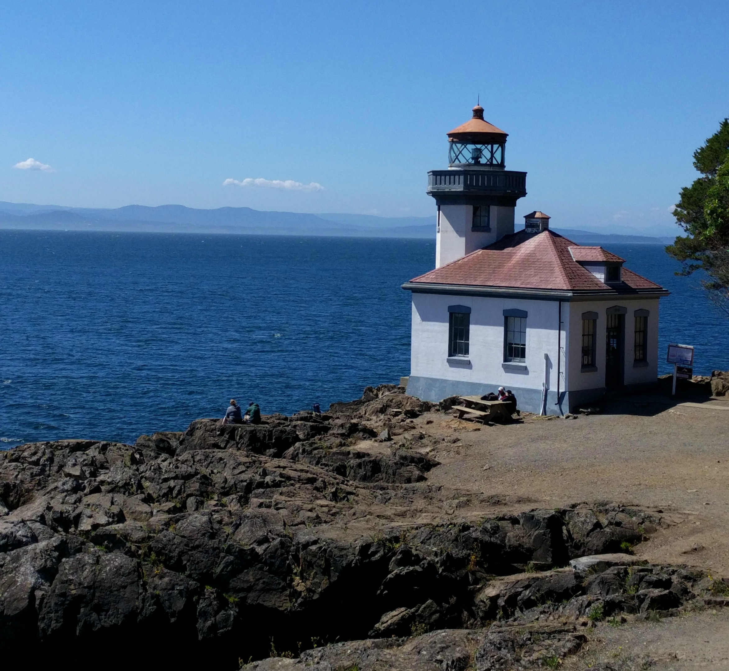 Lime Kiln Point State Park Lighthouse, San Juan Island
