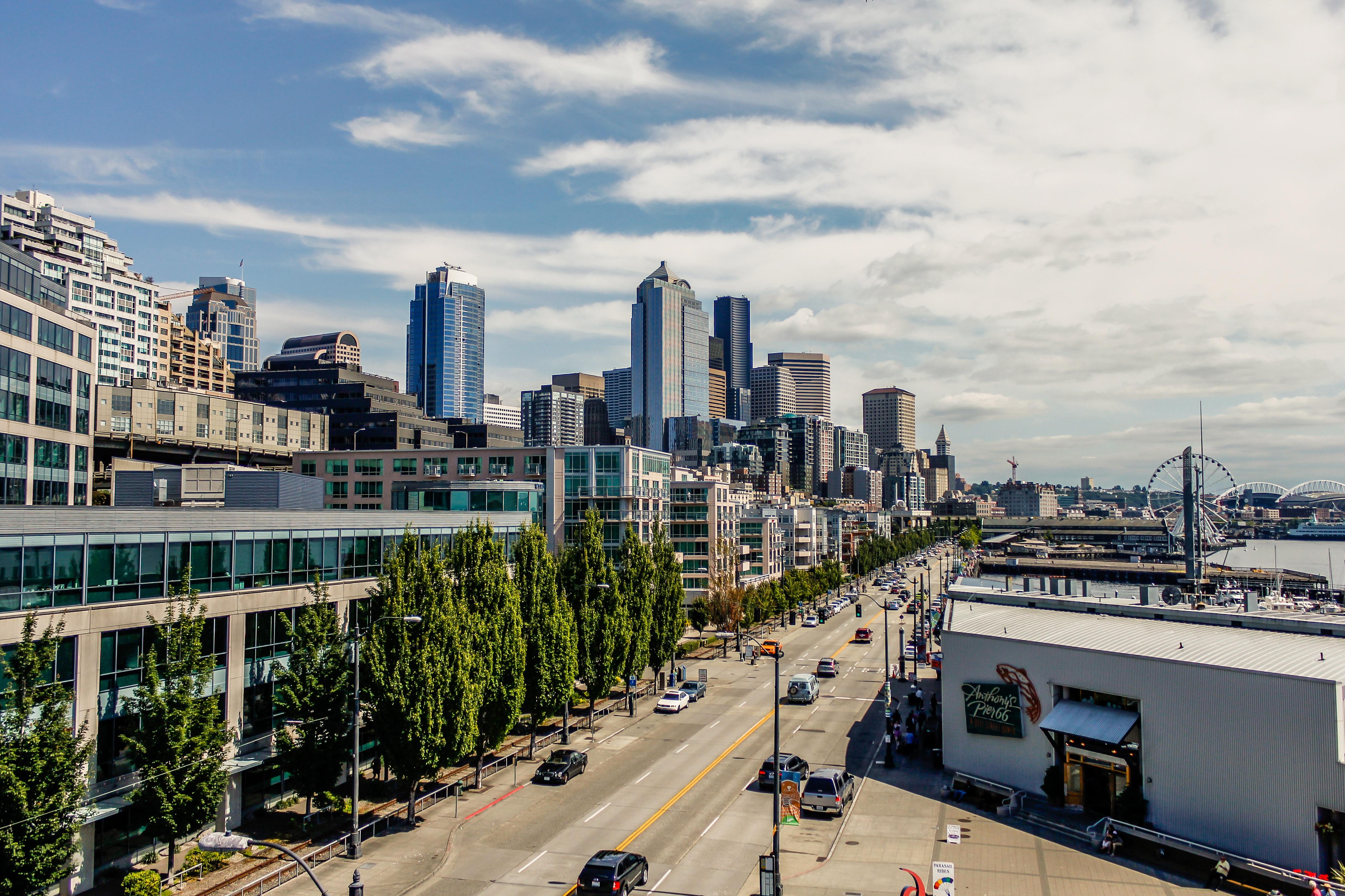Seattle Waterfront, Washington