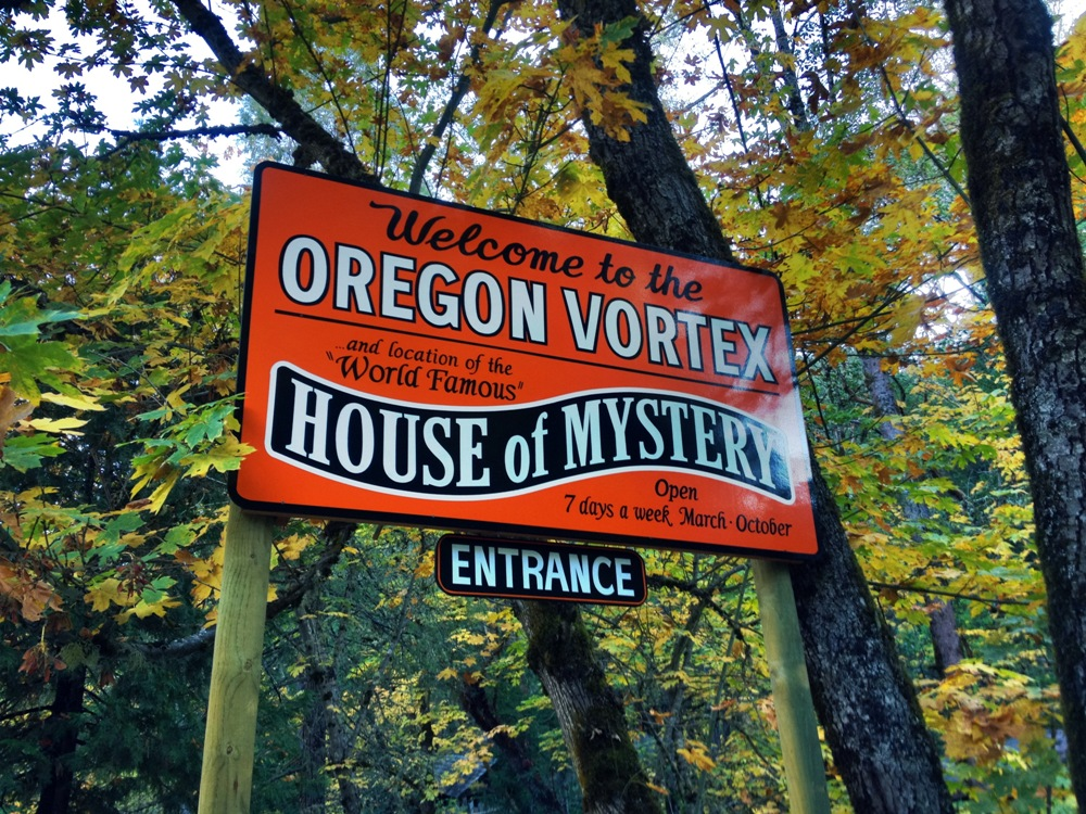 northwest roadside attraction:  oregon vortex