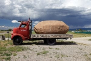 Spud Drive-in Theater, Driggs, Idaho