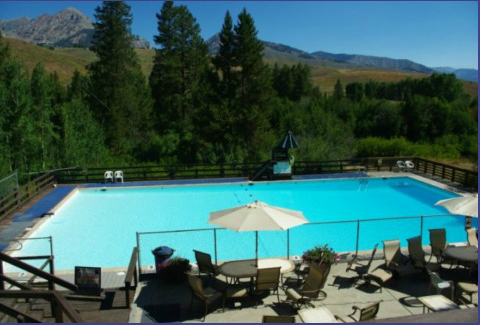 Easley Hot Springs - Cathedral Pines, ID