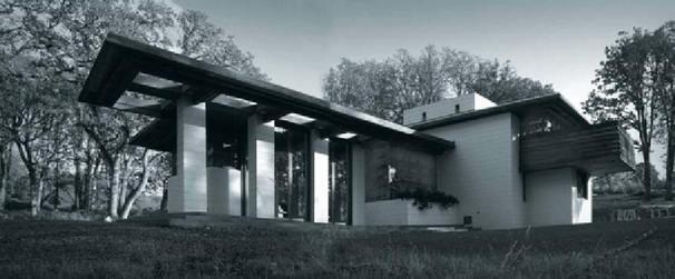 Frank Lloyd Wright Gordon House - Silverton, OR