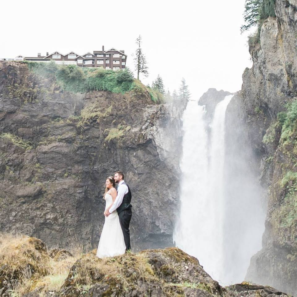 snoqualmie lodge - salish lodge - - best places to get married in the northwest t