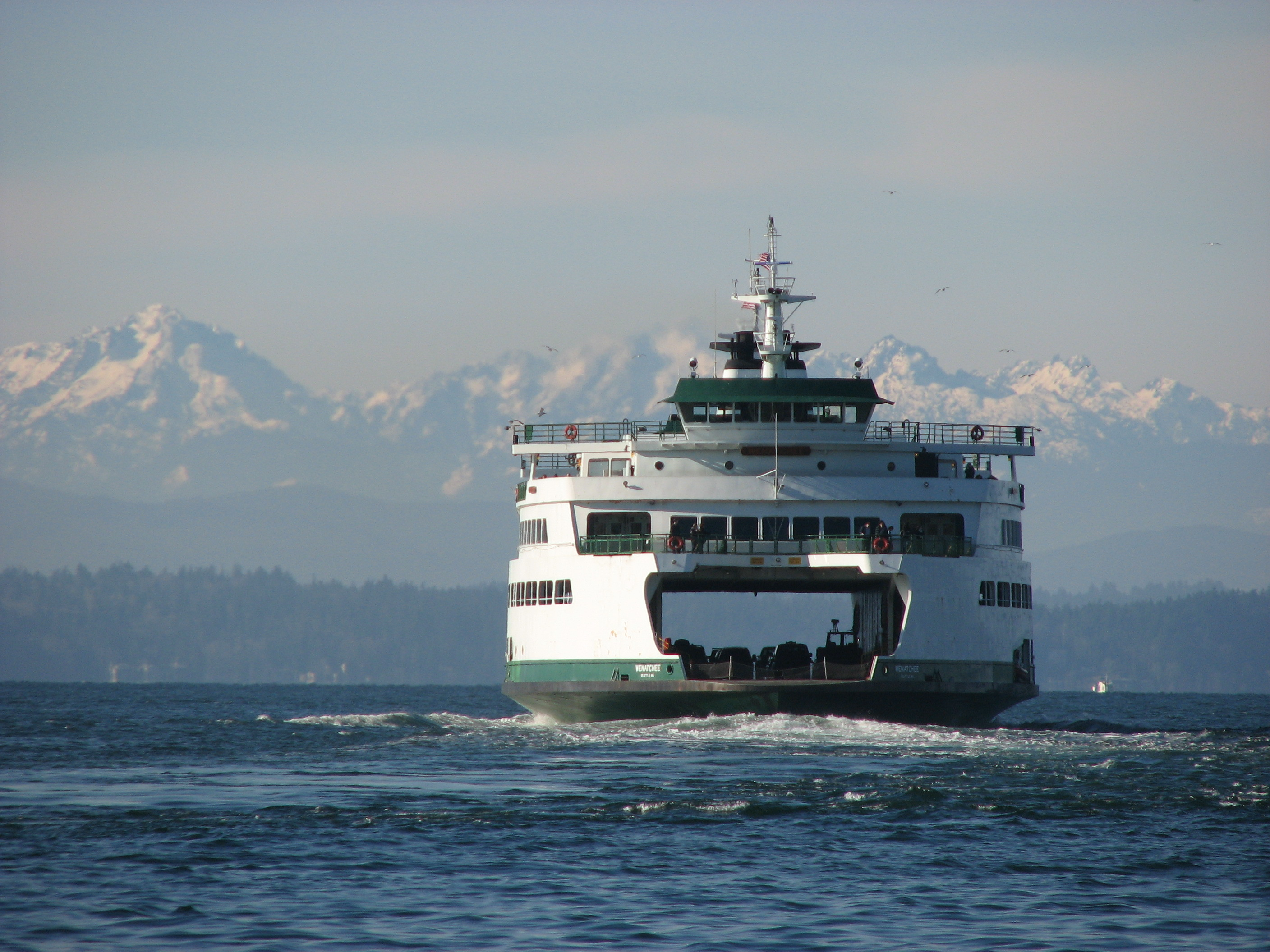 washington state ferry - best places to get married in the northwest t