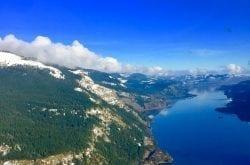 Soaring Over the Columbia Gorge, Oregon