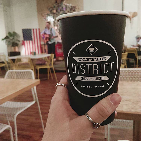 The District Coffee House, Boise, ID