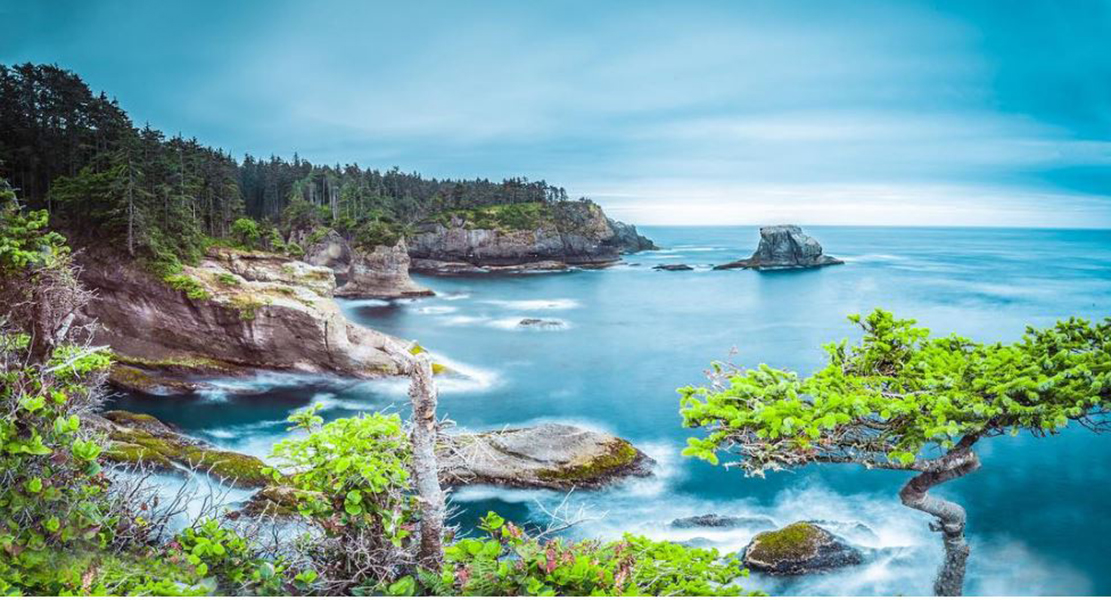 Cape Flattery, Washington photo credit: @SquaresuitPhotography