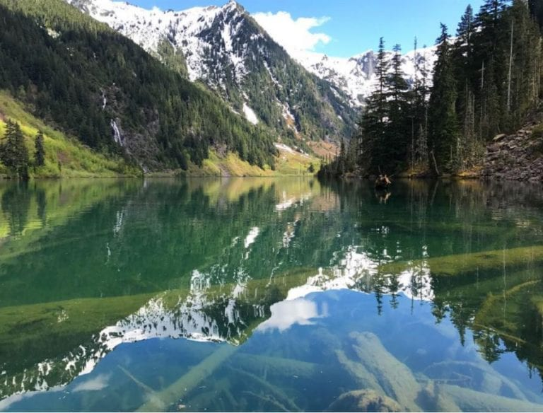 goat lake  snohomish county  our northwest photo of the week