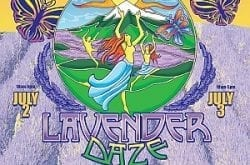 Lavender Daze - Hood River, Oregon