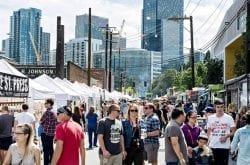 Urban Craft Market at the Seattle Street Food Festival