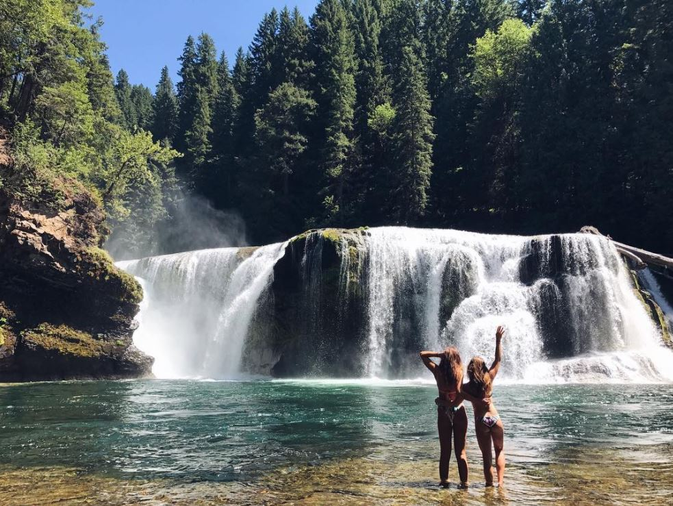 Lower Lewis Falls, photo credit: @elyse.l