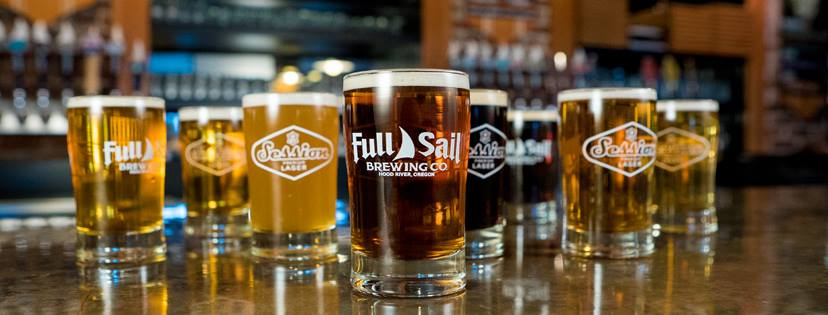 Full Sail Brewery, Hood River, OR