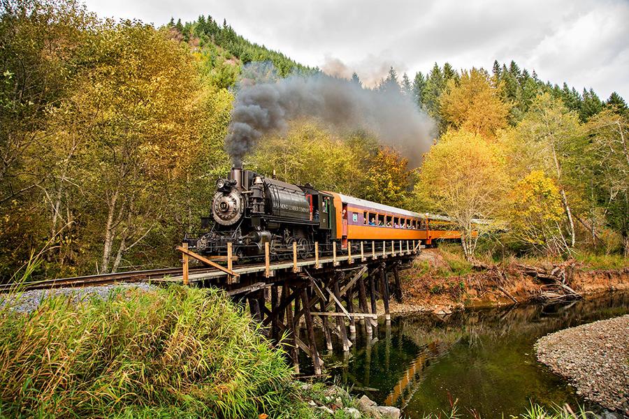 Mount Rainier Railroad  photo credit: Mount Rainier Railroad and Logging Museum