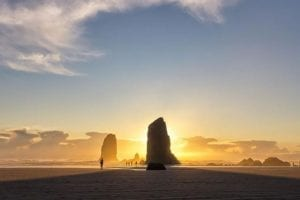 Sunset at Cannon Beach: Northwest's Best Photo of the Week