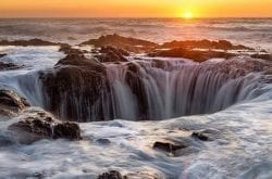 Discover Thor's Well on the Oregon Coast: Our Photo of the Week