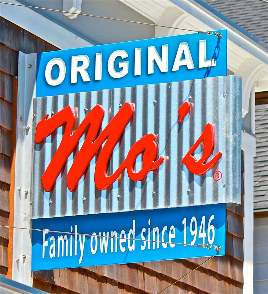 Mo's Choweder, Newport, OR