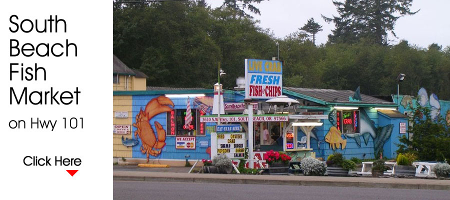 South Beach Fish Market, Newport, OR