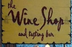 Wine Shop and tasting bar; Bend, OR