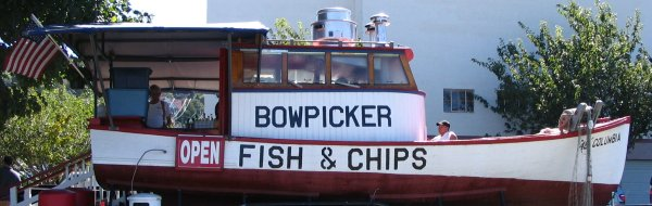 Bowpicker Fish & Chips, Astoria, OR