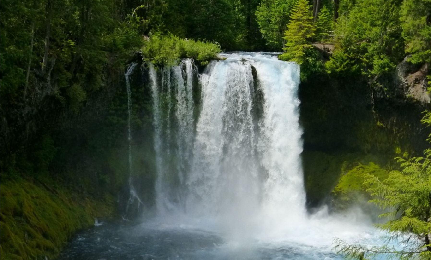 Koosah Falls, Oregon