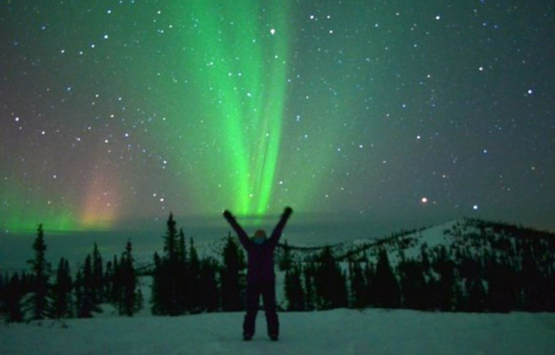 The Northern Lights From Chena Hot Springs Resort Best Of
