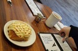 Salted Caramel Cinnamon Roll Bread and Honey Cafe Portland Oregon Brunch