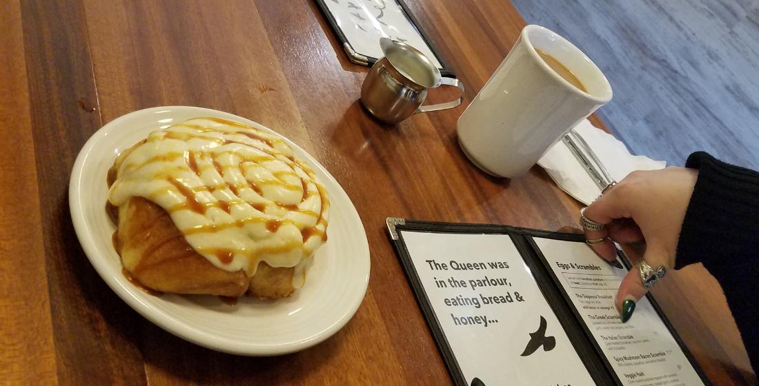 Weekend Brunch at Bread & Honey Cafe