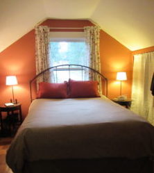 Overnight accommodations at RootsFarmacy retreats are cozy and simple.