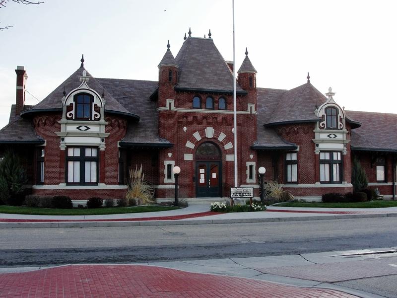 Canyon County Historical Nampa Train Depot, Nampa Idaho