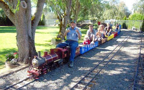 Powerland Heritage Park Train Rides